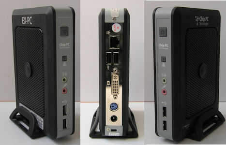 Chip PC Technologies EX-PC Thin Client Hardware